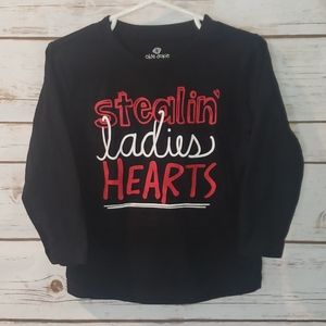 Stealing ladies HEARTS size 2T